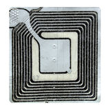 Etiqueta electrónica de la vigilancia del artículo Imagen de archivo libre de regalías