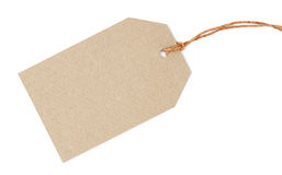 Etiqueta en blanco Imágenes de archivo libres de regalías