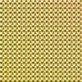 Etiqueta engomada coloreada oro del holograma Imágenes de archivo libres de regalías