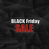 Etiqueta engomada de Black Friday Fotos de archivo libres de regalías