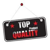 Etiqueta engomada de calidad superior ilustración del vector