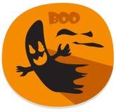 Etiqueta engomada de Halloween con alcohol frecuentado libre illustration