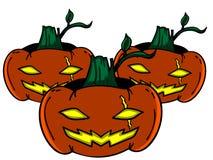 Etiqueta engomada de Hallowen Imagen de archivo libre de regalías