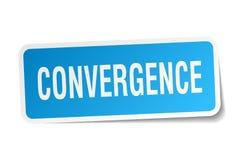 etiqueta engomada de la convergencia libre illustration