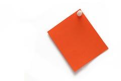 Etiqueta engomada del color Foto de archivo libre de regalías