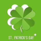 Etiqueta engomada del St. Patrick Day Fotografía de archivo libre de regalías