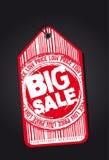 Etiqueta grande de la venta Fotografía de archivo libre de regalías