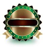 Etiqueta lujosa del mercado, emblema, etiqueta engomada Fotos de archivo