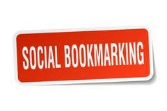etiqueta marcando um endereço da Internet social ilustração do vetor