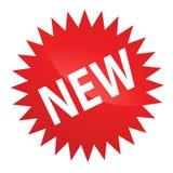 Etiqueta nova Fotografia de Stock
