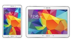 Etiqueta S de la galaxia de Samsung de la tableta Imagen de archivo libre de regalías