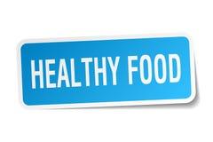 Etiqueta saudável do alimento ilustração do vetor