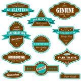 Etiqueta superior de la calidad Imagen de archivo libre de regalías