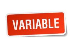 etiqueta variável ilustração royalty free