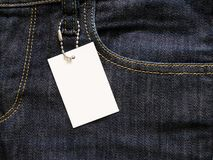 Etiqueta vazia do preço fotografia de stock