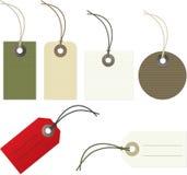 Etiquetas Imágenes de archivo libres de regalías