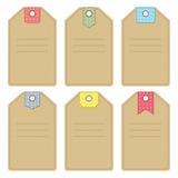 Etiquetas Imagen de archivo libre de regalías