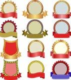 etiquetas Imagens de Stock Royalty Free