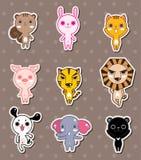 Etiquetas animais Fotografia de Stock