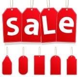 Etiquetas colgantes de la venta Imagen de archivo libre de regalías