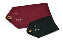 Etiquetas coloreadas foto de archivo libre de regalías