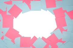 Etiquetas coloridas geométricas abstratas do papel de fundo Fotos de Stock