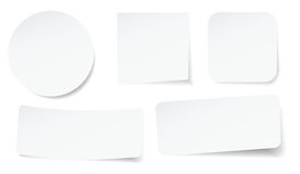 Etiquetas da casca Fotos de Stock