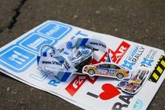 Etiquetas da VW Polo Cup Imagens de Stock