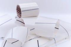 Etiquetas de Blanco Fotografía de archivo libre de regalías