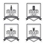Etiquetas de la cerveza Imagen de archivo