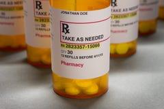 Etiquetas de la prescripción Fotos de archivo libres de regalías