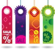 Etiquetas de la venta Imagen de archivo