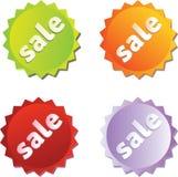 Etiquetas de la venta Imagenes de archivo