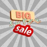 Etiquetas de la venta del vector Fotografía de archivo