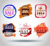 Etiquetas de la venta del vector libre illustration