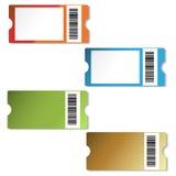 Etiquetas de las compras del vector Fotografía de archivo libre de regalías