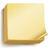 Etiquetas de papel stock de ilustración