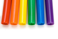 Etiquetas de plástico Foto de archivo libre de regalías