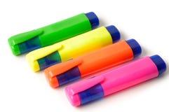 Etiquetas de plástico Fotografía de archivo libre de regalías