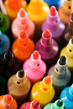 Etiquetas de plástico coloreadas Imagen de archivo libre de regalías