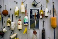 Etiquetas de plástico de la langosta Imagen de archivo