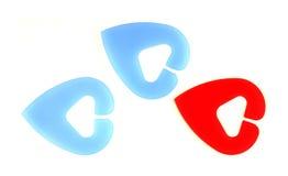 Etiquetas de plástico del ganchillo Imagenes de archivo