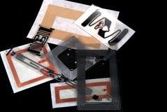 Etiquetas de Rfid Fotografía de archivo libre de regalías