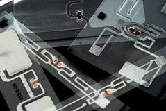 Etiquetas de RFID Fotos de archivo