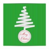 Etiquetas del árbol de navidad Foto de archivo