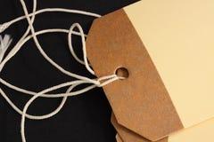 Etiquetas del equipaje imágenes de archivo libres de regalías