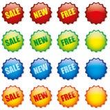 Etiquetas del precio Fotografía de archivo libre de regalías