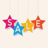 Etiquetas del precio de venta Foto de archivo