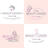 Etiquetas del salón de belleza Fotografía de archivo libre de regalías