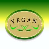 Etiquetas del vegano Imagen de archivo